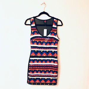 NWT 2B Bebe Sequin Dress Size Medium